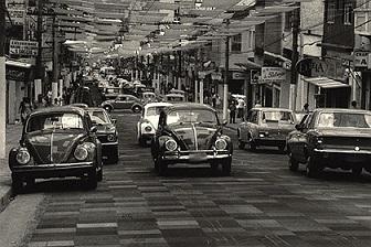 Rua Augusta com Carpete ,em 1973