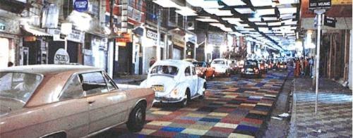 Rua Augusta em 1970 - Carpete